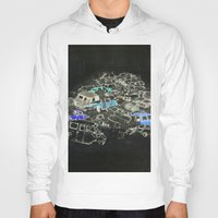cars Hoodies featuring Cars by Alyssa Dennis