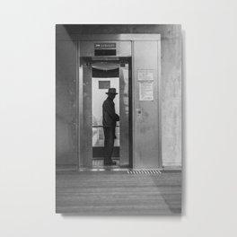 Elevator Metal Print