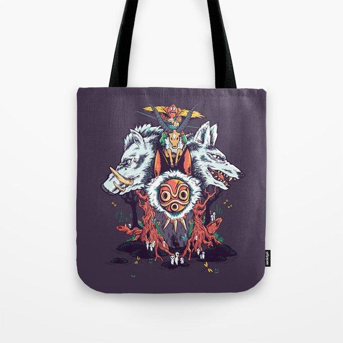 The Wolf Princess (Purple) Tote Bag