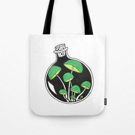 Mushroom Jar Tote Bag
