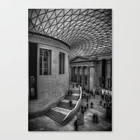 british Canvas Prints featuring British Museum by mnewmanphotos