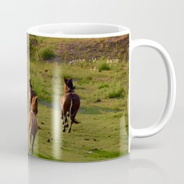 Galloping Mustangs Coffee Mug