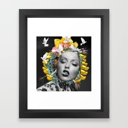 Floral Host Framed Art Print