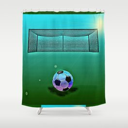Soccer 2 Shower Curtain