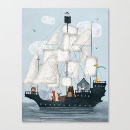 a nautical adventure Canvas Print