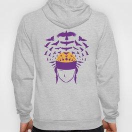 West Middle School, purple bird Hoody