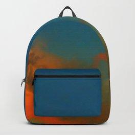 Orange and Blue Skies Backpack