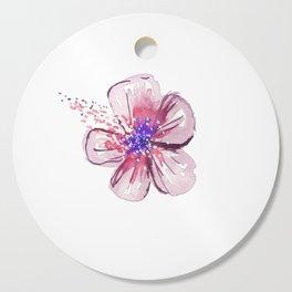 Little Lilac Flower Cutting Board