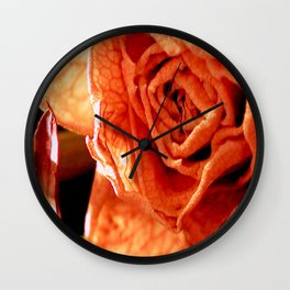 Withered and Wrinkled Wall Clock