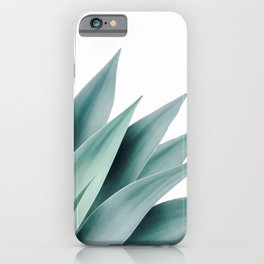 Agave flare II iPhone Case