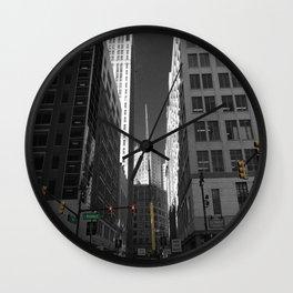Detroit  Wall Clock
