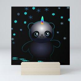 Glow in the Dark Pandacorn Mini Art Print