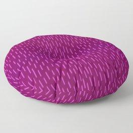 Magenta Dash Floor Pillow