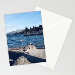 View of Lake Windermere - The Lake District, Cumbria Stationery Cards