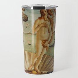 The Birth of Venus by Sandro Botticelli Travel Mug