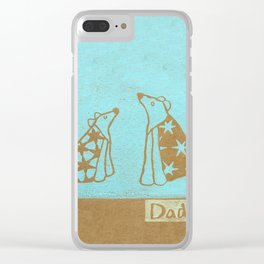 Dad Clear iPhone Case