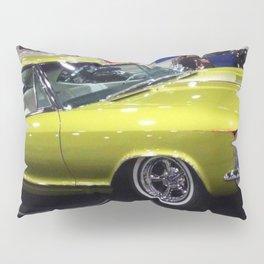Lime Green Merc 1963 Pillow Sham