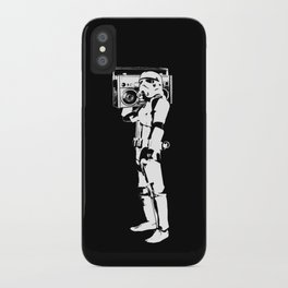 Boombox Trooper iPhone Case