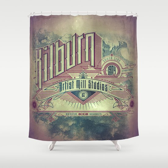 Kilburn Mill Studios Shower Curtain