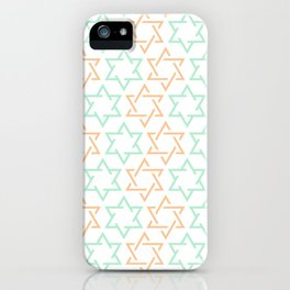 Star Of David Pattern  #society6 #decor #buyart #artprint iPhone Case