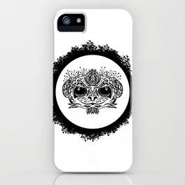 Half Evil Wild Monkey iPhone Case