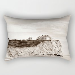 Big House on the Cliff Rectangular Pillow