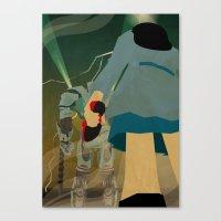 destiny Canvas Prints featuring Destiny by Arian Noveir