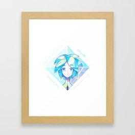 Houseki no kuni - Phos 1 Framed Art Print