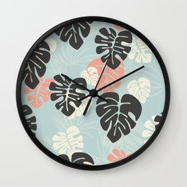 Tropical pattern 053 Wall Clock