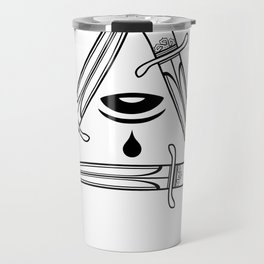 live by the sword die by the sword Travel Mug