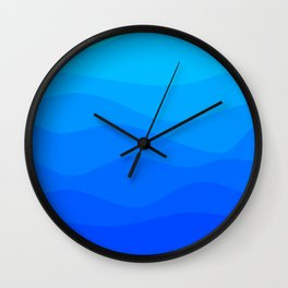 Into The Ocean Wall Clock