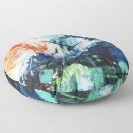 Colors Collide Floor Pillow