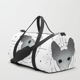 Tattoo Sphynx Cat Duffle Bag