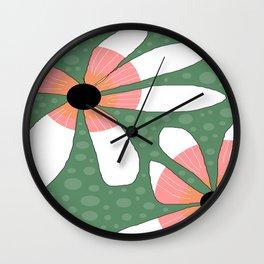 FLOWERY TILDE  / ORIGINAL DANISH DESIGN bykazandholly Wall Clock