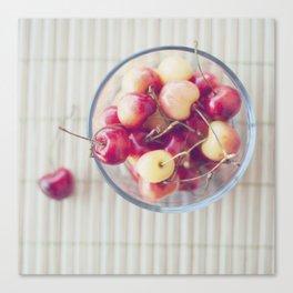 Cherries. Canvas Print