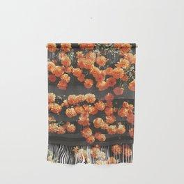 Orange Flowers Wall Hanging