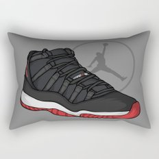 Jordan 11 (Breds) Rectangular Pillow