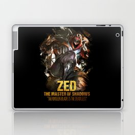 League of Legends ZED - The Master Of Shadows - Video games Champion Laptop & iPad Skin
