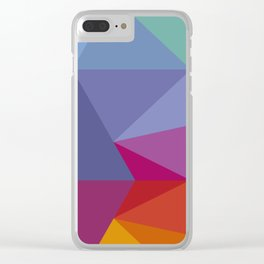 Abstract Flow Clear iPhone Case
