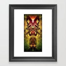 Spinal Tyrant mkii Framed Art Print