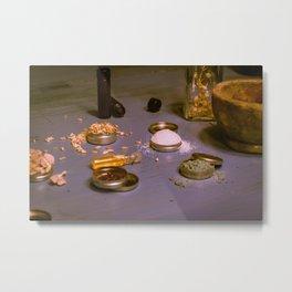 Alchemist's Table I (The Elixir) Metal Print