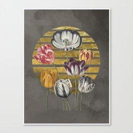 Dramatic Tulips Canvas Print
