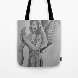 Angel Warrior Tote Bag