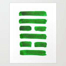 The Family - I Ching - Hexagram 37 Art Print