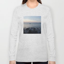 Kayaker Leith Edinburgh Long Sleeve T-shirt