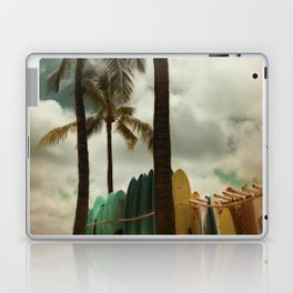 Surfing Waikiki Laptop & iPad Skin