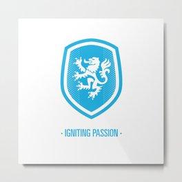 Elf - Igniting Passion (Blue) Metal Print