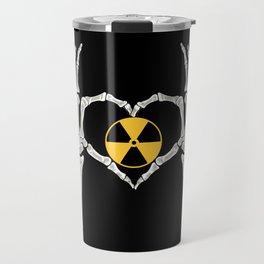 Rad Tech X Ray Skeleton Radiology Technican Gift Travel Mug