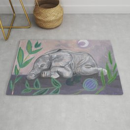 What Does the Elephant Dream? Rug