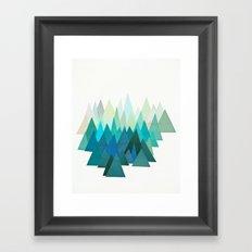 Cold Mountain Framed Art Print